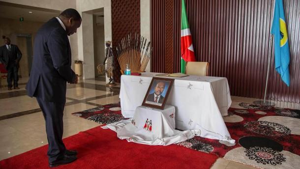Ist die Machtübergabe in Burundi gefährdet?