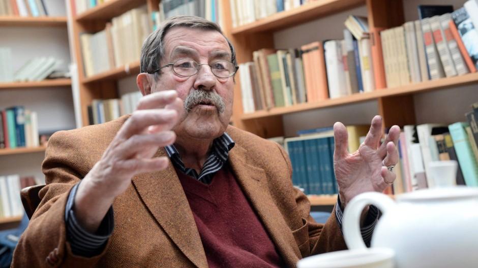 Will nichts zurücknehmen: Literaturnobelpreisträger Günter Grass