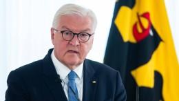 Bundespräsident Steinmeier ruft Bürgerinnen und Bürger zum Wählen auf