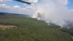Wie die Bundeswehr im Kampf gegen den Waldbrand hilft