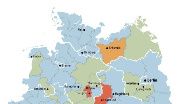 Das sind Deutschlands Problemzonen