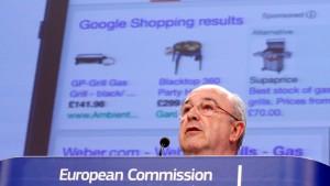 Google muss in Brüssel wieder zittern