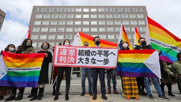 Homo-Ehe in Japan?