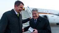 Gauck sichert baltischen Staaten Solidarität zu