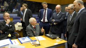 Abschiedsstimmung in der Eurogruppe