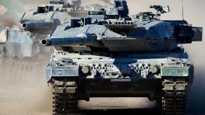 Bundesregierung stoppt Rüstungsexporte nach Russland