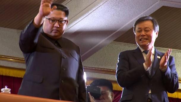 Kim Jong-un besucht Pop-Konzert