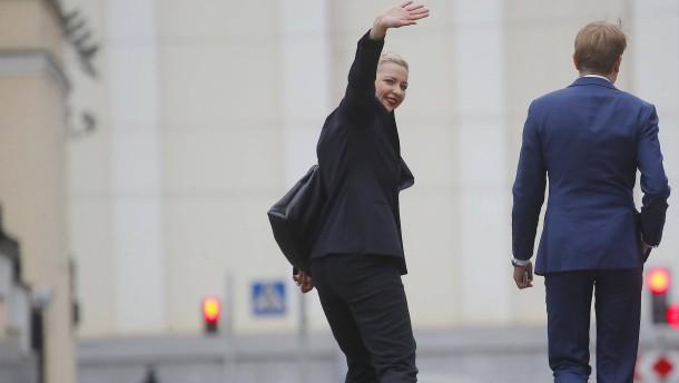 Maria Kolesnikowa offenbar festgenommen