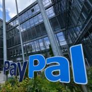 Deutschlandzentrale von Paypal in München. Banken und Sparkassen wollen jetzt ein eigenes Online-Bezahlsystem anbieten.