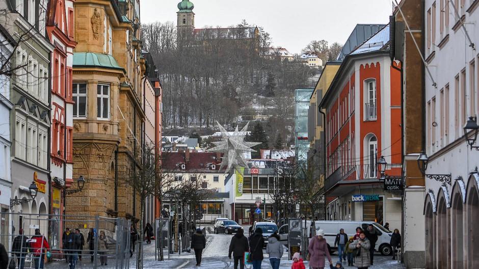 Die Innenstadt von Amberg