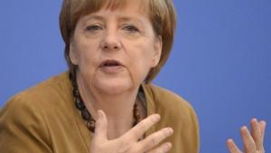 Merkel richtet deutlichen Appell an Putin