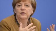 Merkel fordert schnellstmögliche Untersuchung zum Flugzeug-Absturz