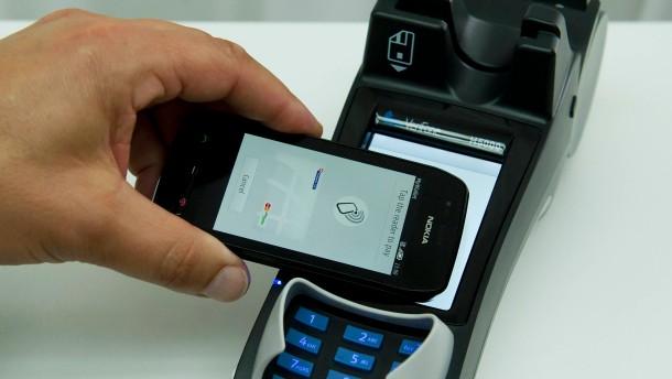 Das Handy als neue Geldbörse