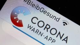 Probleme mit Corona-Warnapp auch auf iPhones