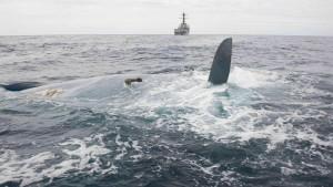 Küstenwache findet Wrack der vermissten Cheeki Rafiki