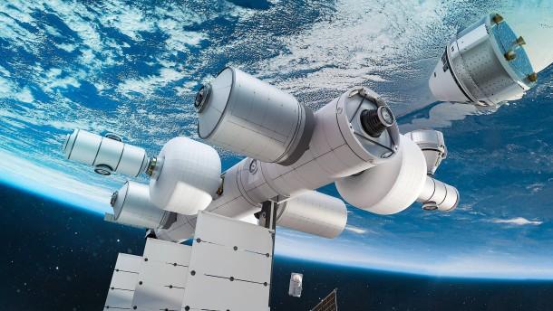 Blue Origin will private Raumstation einrichten