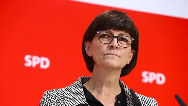 SPD-Chefin Esken kritisiert geplante Sanktionen gegen Nord Stream 2