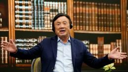 Huawei erwartet starken Umsatzrückgang