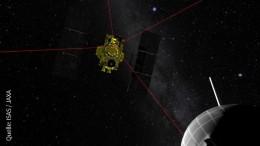 """Japanische Sonde """"Hayabusa 2"""" landet auf Asteroid"""