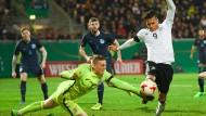 U21-Mannschaft überzeugt gegen England