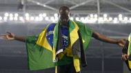 Usain Bolt macht in Rio das Triple-Triple klar