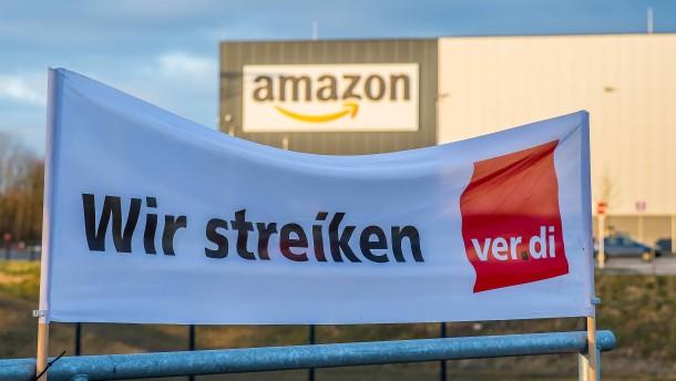 Verdi ruft zu Arbeitsniederlegungen bei Amazon auf
