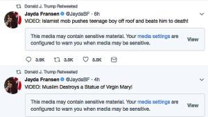 Niederlande entlarven von Trump geteiltes Video als Fake News