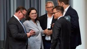 SPD plant wegen Asylstreits Krisensitzung