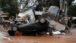 Mindestens 14 Tote bei Überschwemmungen in Griechenland