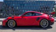 Im Grenzbereich mit dem Porsche 911 GT2 RS: Glückwünsche, gereckte Daumen, Beifahrbegehren sind ständige Begleiter.