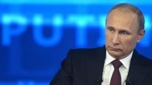 Putin hat noch viel Geld für seine Eroberungen