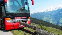 Fahrer ohnmächtig – Tourist verhindert Bus-Absturz