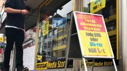 Nur noch 600 Videotheken in Deutschland