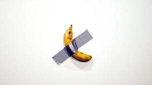 Künstler isst 120.000 Dollar teure Banane