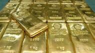 Profitabel: Der Goldpreis hat in den vergangenen Wochen um Acht Prozent zugelegt.