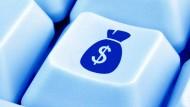 Geld auf Tastendruck: 35 Millionen Euro sind so in den ersten neun Monaten des Jahres in Deutschland zusammengekommen.