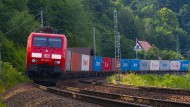 Güterzug der Deutschen Bahn