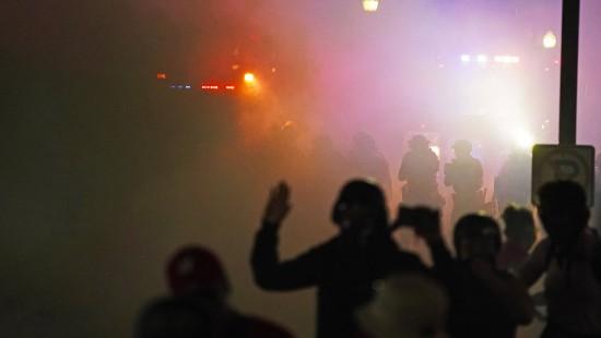 Schüsse bei Protest gegen Polizeigewalt