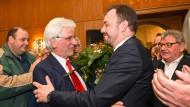 Kassels neuer Oberbürgermeister: Christian Geselle (rechts) wird heute ins Amt eingeführt (Archiv)