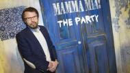 """Björn Ulvaeus feiert mit: Auf der Insel Djurgården findet seit einigen Wochen die """"Mamma-Mia-Party"""" statt."""
