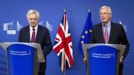 Brexit-Verhandlungen haben begonnen
