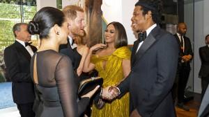 Harry und Meghan treffen Beyoncé und Jay-Z