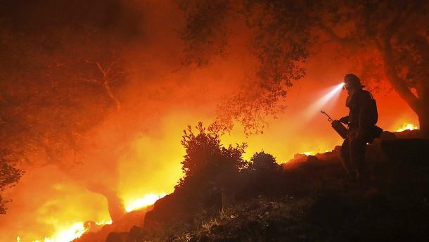 Kaliforniens Wälder brennen immer noch