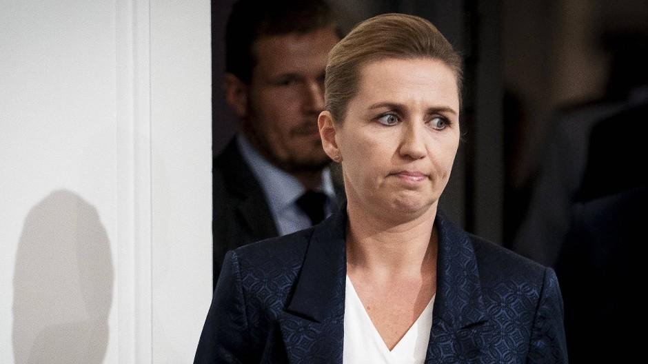 Hat SMS-Nachrichten zu der angeordneten Nerz-Tötung verschwinden lassen: Mette Frederiksen