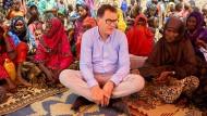 Ständig unterwegs: Müller im April in der von Dürre geplagten Somali-Region in Äthiopien