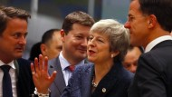 Theresa May beim EU-Gipfel in Brüssel