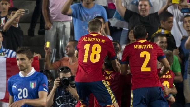 Spanien siegt und siegt und siegt