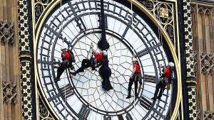 Die Uhr tickt