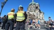 Polizei vereitelt Anschlag auf Berliner Halbmarathon