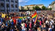 Das Feindbild Ausland hilft Viktor Orbán